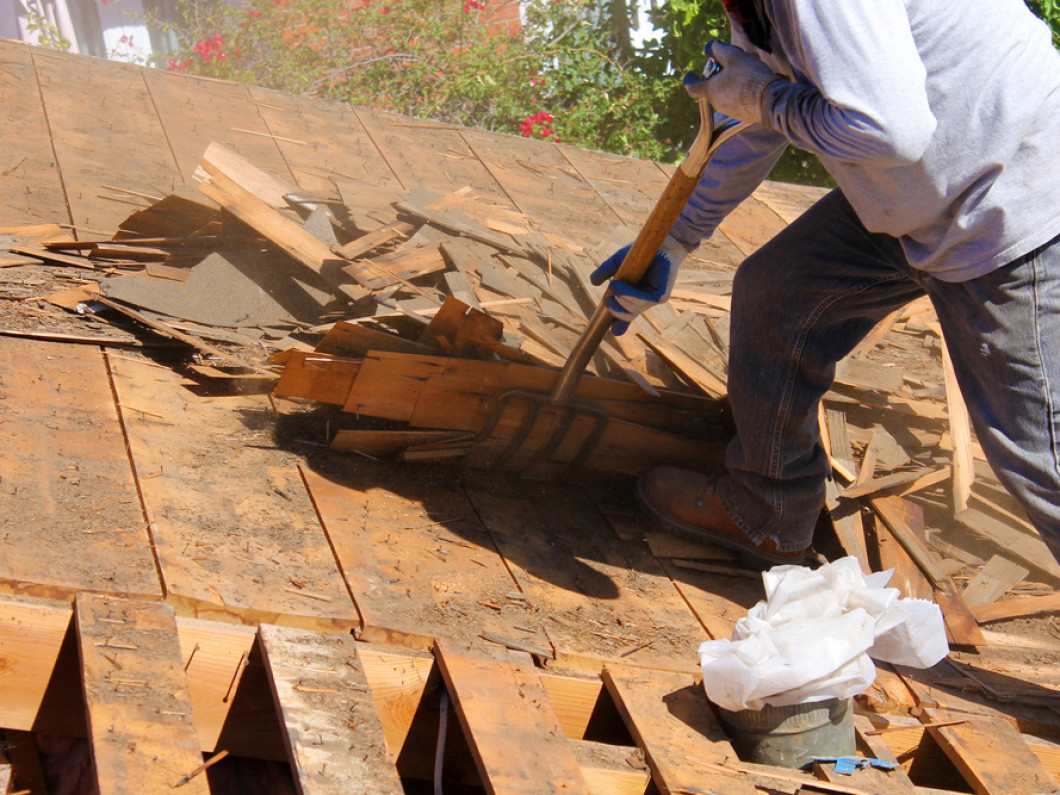 Check out our re-roofing process